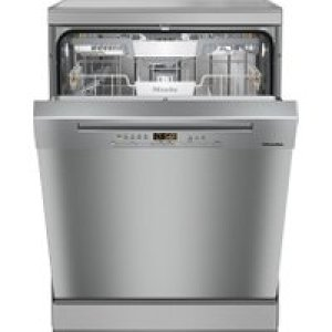 Miele G5222SC Standard Dishwasher - Clean Steel - A+++ Rated   AO SALE