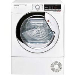 Hoover Dynamic Next DXOC10TCE Wifi Connected 10Kg Condenser Tumble Dryer - White - B Rated   AO SALE