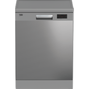 Beko DFN16430X Standard Dishwasher - Stainless Steel - A+++ Rated   AO SALE