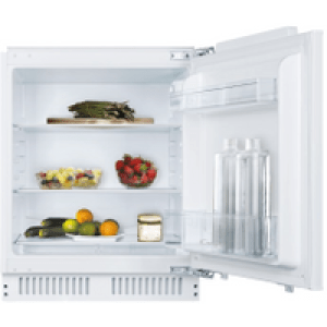 Candy CRU160NEK Integrated Upright Fridge - Fixed Door Fixing Kit - White - A+ Rated   AO SALE