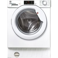 Hoover HBWS48D1E Integrated Washing Machine with 1400 rpm - White - A+++ Rated AO SALE