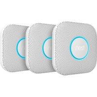 Nest Protect Smart Smoke and CO Alarm - Triple Pack - Battery   AO SALE