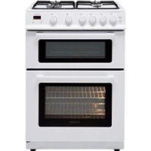 Electra TG60W 60cm Gas Cooker with Variable Gas Grill - White - A+ Rated AO SALE