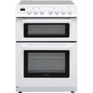 Electra TCR60W 60cm Electric Cooker with Ceramic Hob - White - A Rated AO SALE
