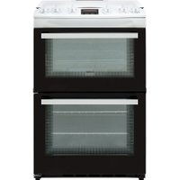 Zanussi ZCG63250WA 60cm Gas Cooker with Full Width Electric Grill - White - A/A Rated   AO SALE