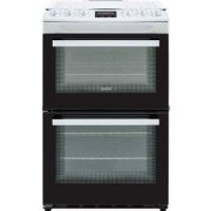 Zanussi ZCG43250WA 55cm Gas Cooker with Full Width Electric Grill - White - A/A Rated   AO SALE