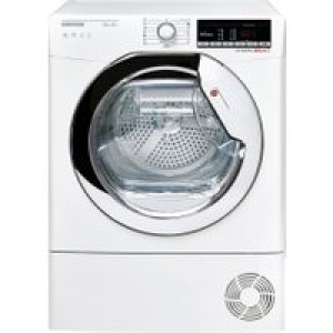 Hoover Dynamic Next DXOH9A2TCE Wifi Connected 9Kg Heat Pump Tumble Dryer - White - A++ Rated   AO SALE