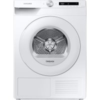 Samsung DV5000T DV80T5220TW Wifi Connected 8Kg Heat Pump Tumble Dryer - White - A+++ Rated   AO SALE