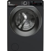 Hoover H-WASH 500 HDD4106AMBCB Wifi Connected 10Kg / 6Kg Washer Dryer with 1400 rpm - Black - A Rated   AO SALE