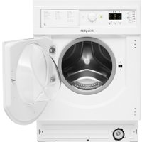 Hotpoint BIWDHL7128 Integrated 7Kg / 5Kg Washer Dryer with 1200 rpm - White - B Rated   AO SALE