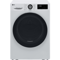 LG V9 FDV909W Wifi Connected 9Kg Heat Pump Tumble Dryer - White - A+++ Rated   AO SALE