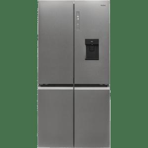 Haier HTF-520WP7 American Fridge Freezer - Platinum - A++ Rated  AO SALE