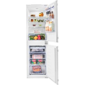 Beko BCFD350 Integrated 50/50 Frost Free Fridge Freezer with Sliding Door Fixing Kit - White - A+ Rated  AO SALE
