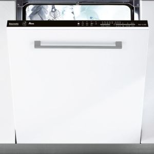 Baumatic BDIN1L38B-80 Fully Integrated Standard Dishwasher - Black Control Panel with Fixed Door Fixing Kit - A+ Rated AO SALE