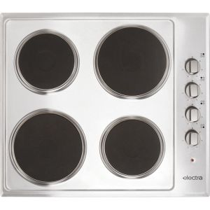 Electra BISH4SS 58cm Solid Plate Hob - Stainless Steel AO SALE