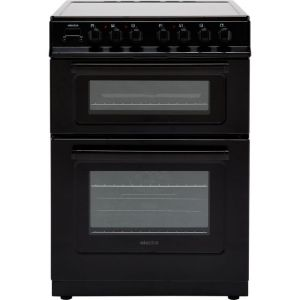Electra TCR60B 60cm Electric Cooker with Ceramic Hob - Black - A Rated  AO SALE