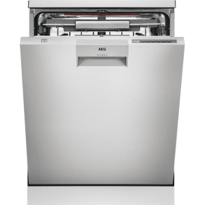 AEG ComfortLift FFE63806PM Standard Dishwasher - Stainless Steel - A+++ Rated  AO SALE