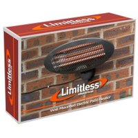 Limitless Wall Mounted Electric Patio Heater