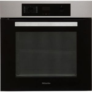 Miele H2265-1B Built In Electric Single Oven - Clean Steel - A+ Rated AO SALE