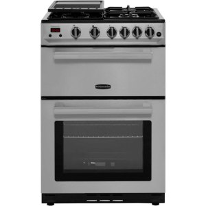Rangemaster Professional Plus 60 PROP60NGFSS/C 60cm Gas Cooker with Variable Gas Grill - Stainless Steel / Chrome - B/B Rated AO SALE