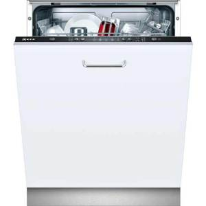 NEFF N30 S511A50X1G Fully Integrated Standard Dishwasher - Black Control Panel with Fixed Door Fixing Kit - A+ Rated  AO SALE