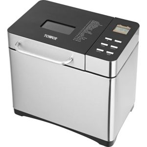 Tower T11005 Bread Maker with 19 programmes - Stainless Steel  AO SALE