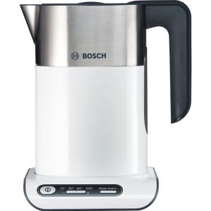 Bosch Styline TWK8631GB Kettle with Temperature Selector - White / Stainless Steel  AO SALE