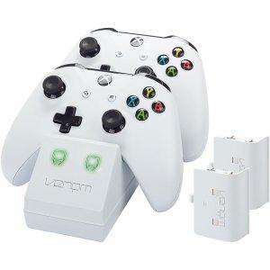 Venom Twin Docking Station For Xbox One - White  AO SALE