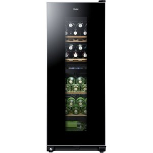 Haier WS46GDBE Wine Cooler - Black - B Rated  AO SALE