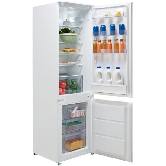 Zanussi ZBB28441SV Integrated 70/30 Fridge Freezer with Sliding Door Fixing Kit - White - A+ Rated AO SALE