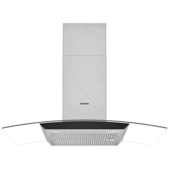 Siemens LC97AFM50B IQ-300 90cm Chimney Hood With Glass Canopy - STAINLESS STEEL