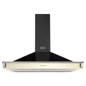 Stoves S1000RICHCHIMRAILCRM 100cm Chimney Hood With Rail - CREAM