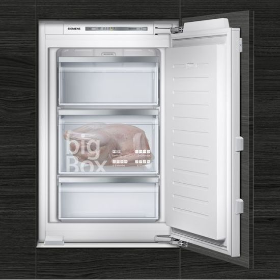 Siemens IQ-500 GI21VAFE0 Integrated Upright Freezer with Fixed Door Fixing Kit - A++ Rated