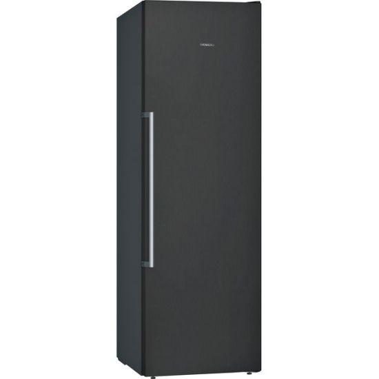 Siemens IQ-500 GS36NAXFV Frost Free Upright Freezer - Black - A++ Rated