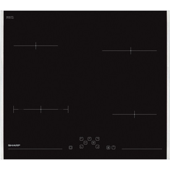 Sharp KH-6V08FT00-EU 59cm Ceramic Hob - Black