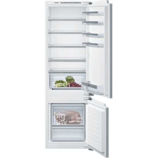 Siemens IQ-300 KI87VVFF0G Integrated 70/30 Fridge Freezer with Fixed Door Fixing Kit - White - A++ Rated