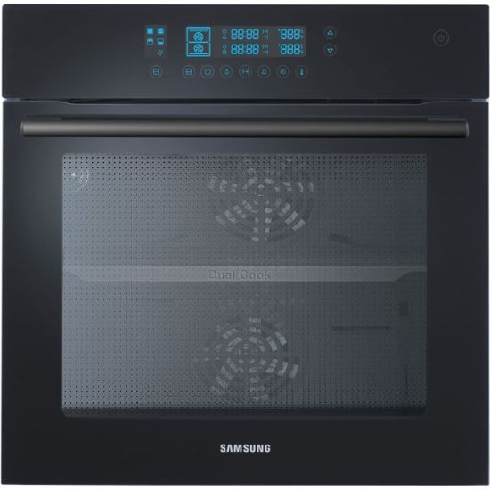 Samsung Prezio Dual Cook NV70F5787LB Built In Electric Single Oven - Black - A Rated