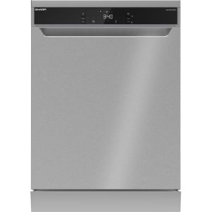 Sharp QW-NA31F45EIO-EN Standard Dishwasher - Stainless Steel - A++ Rated