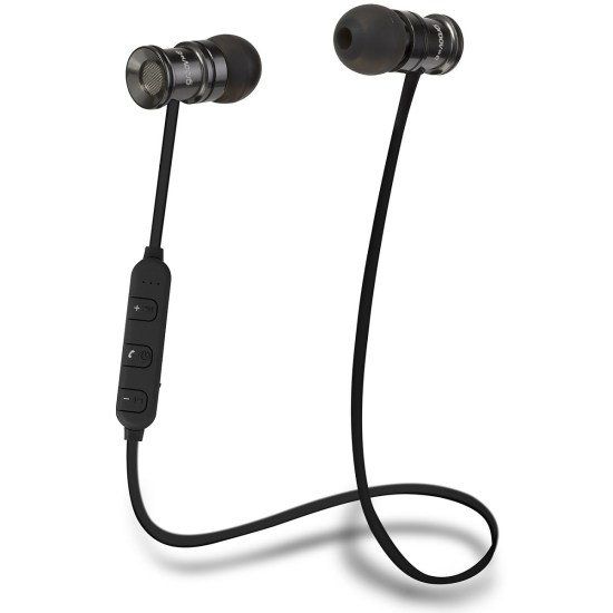 Grundig Groov-e Bullet Buds Wireless Metal Earphones with Remote and Mic - Silver