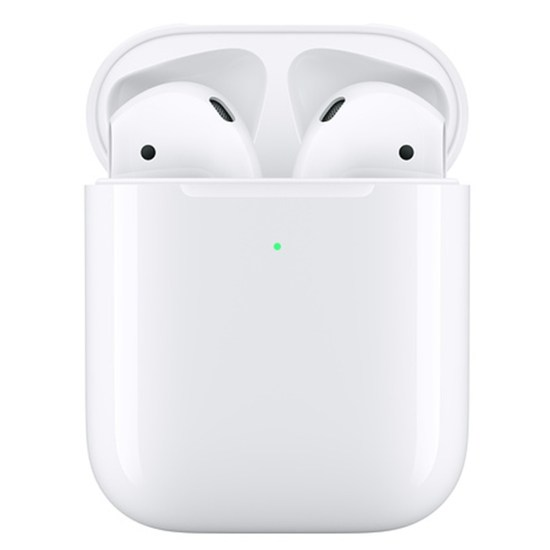 Apple AirPods with Wireless Charging Case - White