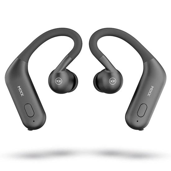 MIXX Streambuds True Wireless Sports Earbuds - Midnight Black