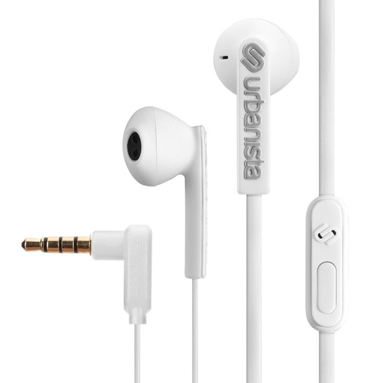 Urbanista San Francisco In-Ear Wired Earphones with Mic - Fluffy Cloud