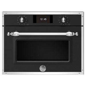 Bertazzoni F457HERVTNE Heritage Series Compact Steam Combination Oven - BLACK