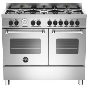 Bertazzoni MAS100-6-MFE-D-XE 100cm Master Dual Fuel Range Cooker - STAINLESS STEEL