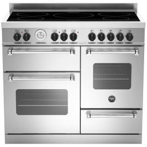 Bertazzoni MAS100-5I-MFE-T-XE 100cm Master Series XG Induction Range Cooker - STAINLESS STEEL