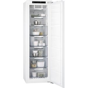AEG ABB818F6NC Integrated Frost Free Upright Freezer with Fixed Door Fixing Kit - A+ Rated