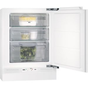 AEG ABE682F1NF Integrated Frost Free Under Counter Freezer with Fixed Door Fixing Kit - A+ Rated