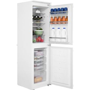 Amica BK296.3 Integrated 50/50 Fridge Freezer with Sliding Door Fixing Kit - White - A+ Rated