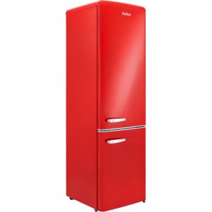 Amica FKR29653R 60/40 Fridge Freezer - Red - A+ Rated
