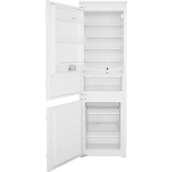 Whirlpool ART6550SF1 Integrated 70/30 Fridge Freezer with Sliding Door Fixing Kit - White - A+ Rated